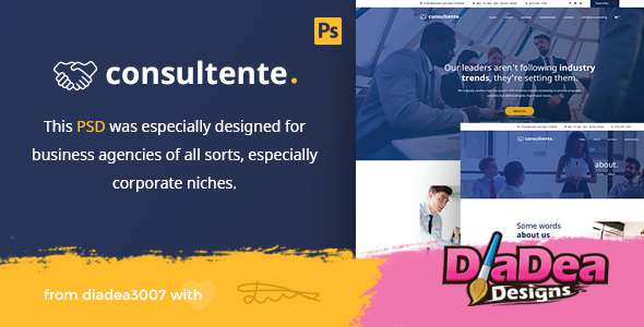 Consultente – Corporate Business & Agency PSD Template            TFx Kohaku Stu