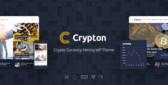 Crypton | Cryptocurrency & Mining WP Theme            TFx Lavern Berny