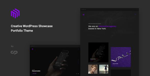 Cubez – Creative WordPress Showcase Portfolio Theme            TFx Oswald Fredrick