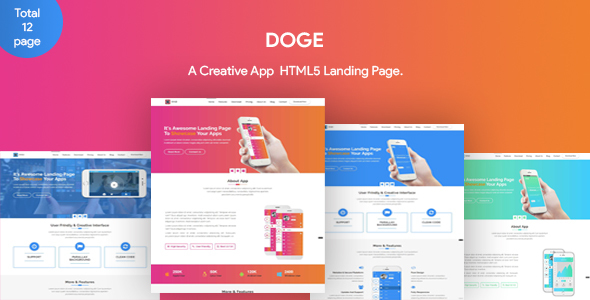 DOGE - App Landing Page            TFx Xquenda Chance