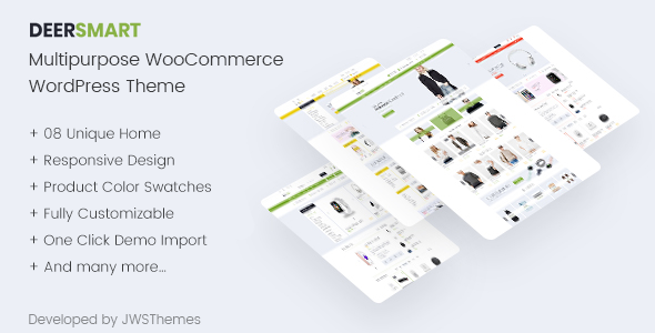 DeerSmart – Multipurpose Responsive WooCommerce WordPress Theme            TFx Branden Sammy