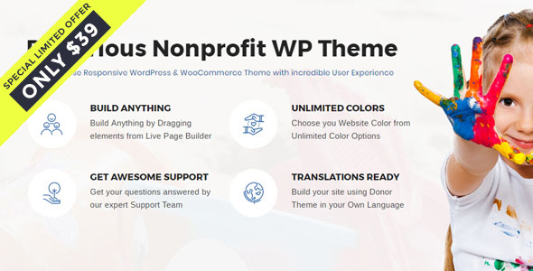 Denorious | Nonprofit and Political WordPress Theme            TFx Takuma Sora
