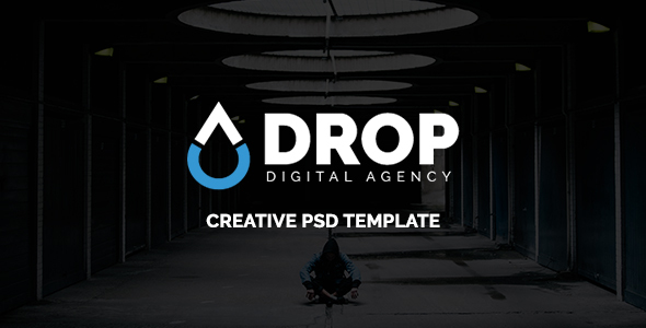 Drop – Digital Agency PSD Template            TFx Laurence Milford