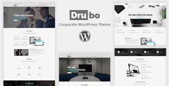 Drubo - Corporate WordPress Theme            TFx Buddy Alva