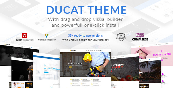 Ducat - Responsive Multi-Purpose WordPress Theme            TFx Rusty Wally