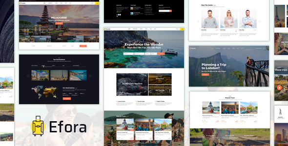 Efora - WordPress Theme            TFx Callahan Danny