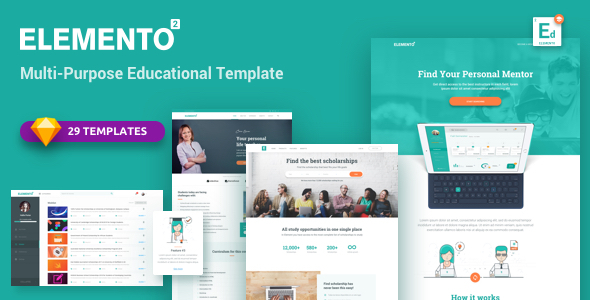 Elemento for Education - Sketch Template            TFx Cyrus Landen