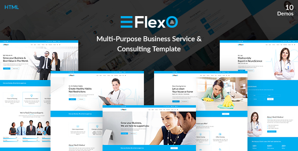 FlexO - Multi-Purpose Business Service & Consulting Template            TFx Xavior Fredric