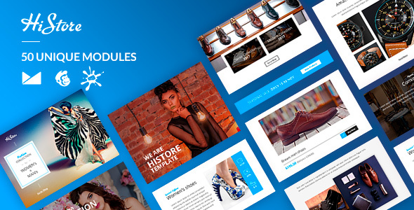HiStore Email-Template + Online Builder            TFx Krikor Gayelord