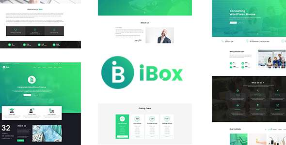 Ibox - Corporate Business PSD Template            TFx Davit Allan