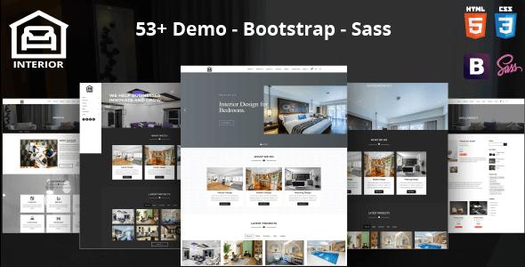 Interior – Modern Interior Design HTML Template            TFx Merit Martie