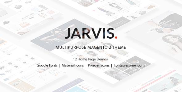 Jarvis - Multipurpose Magento 2 Theme            TFx Takashi Donovan