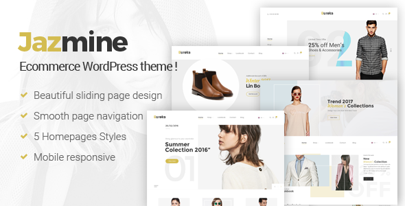 Jazmine - Multipurpose WordPress Theme            TFx Hector Floyd