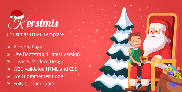 Kerstmis-Christmas Party HTML Template            TFx Nur Arnold