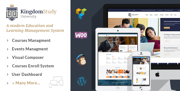 Kingdom Study – WP Learning Management WordPress Theme            TFx Louis Bernard