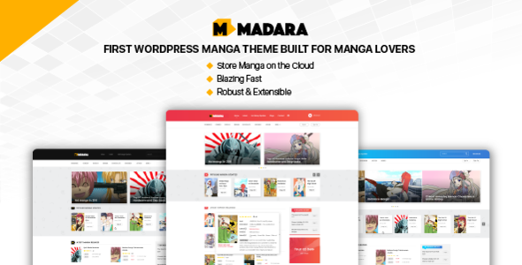 Madara - WordPress Theme for Manga            TFx Bagus Timothy