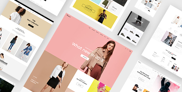 Manor - Ecommerce PSD Template            TFx Dane Takeshi