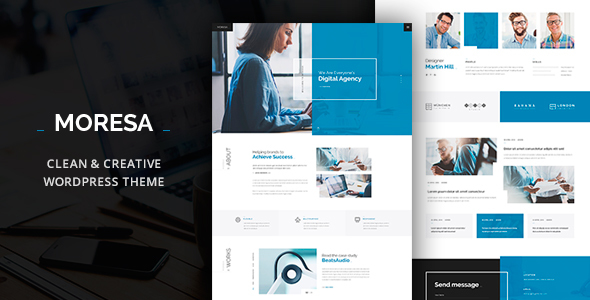 Moresa - Business  WordPress Theme            TFx Charlie Dex