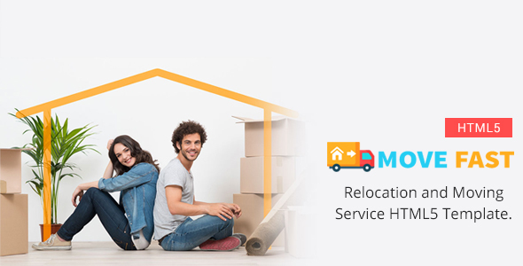 Move Fast - Relocation and Moving Service HTML5 Template            TFx Garth Ivan