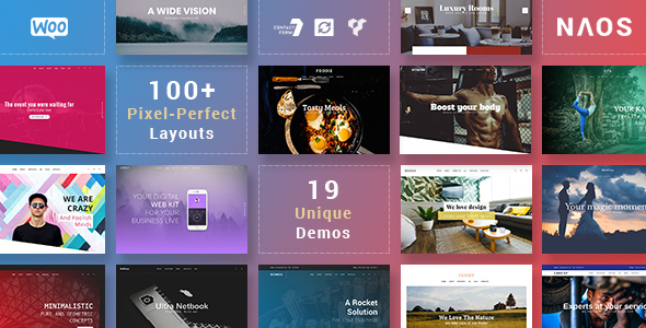Naos - Universal and Advanced WordPress Theme            TFx Ferdie Lewin