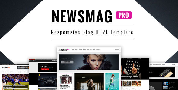 NewsMag Responsive Magazine HTML Template            TFx Ararat Shouhei