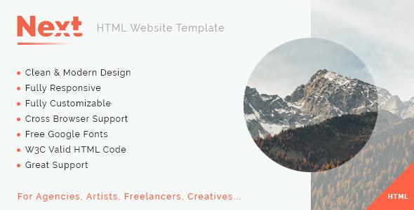 Next - Multipurpose HTML5 Template            TFx Ashley Dawson