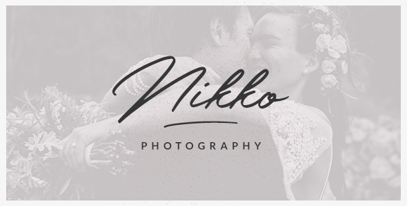 Nikko - WordPress Photography Theme            TFx Newt Charles