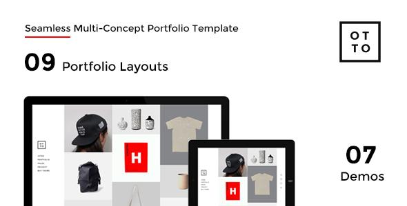 OTTO - Seamless Multi-Concept Portfolio Joomla Template            TFx Braeden Jasper