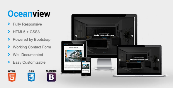Oceanview - Hotel HTML Template            TFx Tod Emmerson