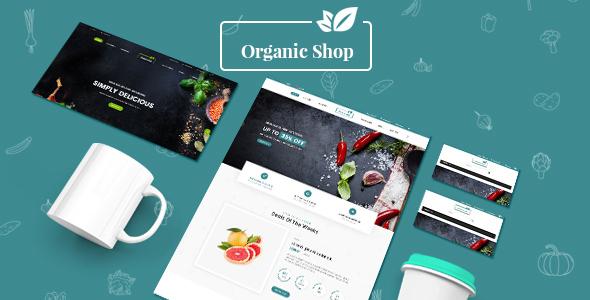 Organic Shop - Responsive Prestashop 1.7 Theme            TFx River Baldric