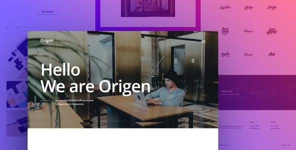 Origen – Modern Portfolio WordPress Theme for Freelancers & Agencies            TFx Eduard Napoleon