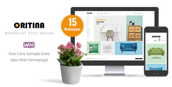 Oritina - WooCommerce WordPress Theme            TFx Marlin Perry