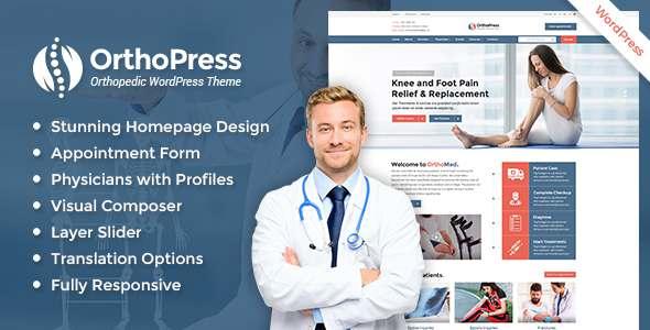 OrthoPress - Orthopedic WordPress Theme            TFx Denzil Sherwood