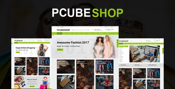 Pcube Shop Ecommerce HTML5 Template            TFx Fitzroy Rudy