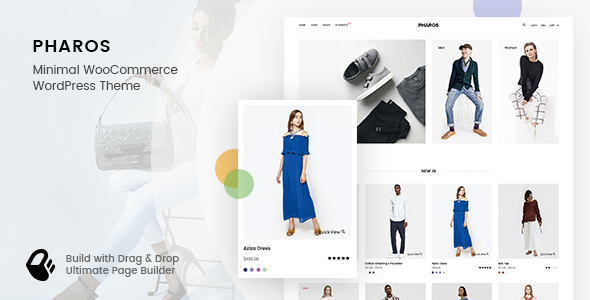 Pharos - Minimalist, Clean and Simple WooCommerce Theme            TFx Raine Kendall