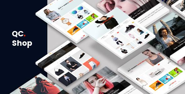 QCShop - eCommerce PSD Template            TFx Timmy Narek