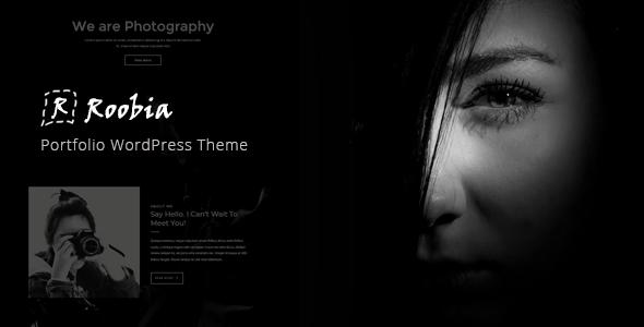Roobia - Portfolio WordPress Theme            TFx Giles Nash