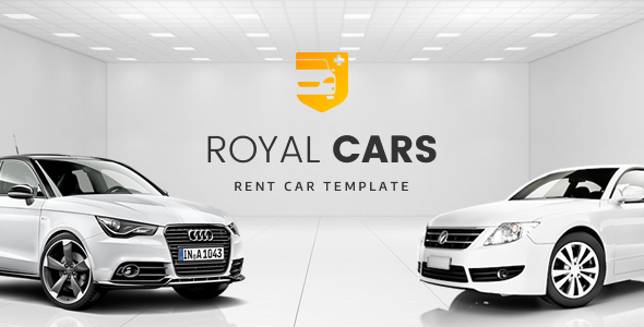 Royal Cars - Rent Car PSD Template            TFx Jem Steph
