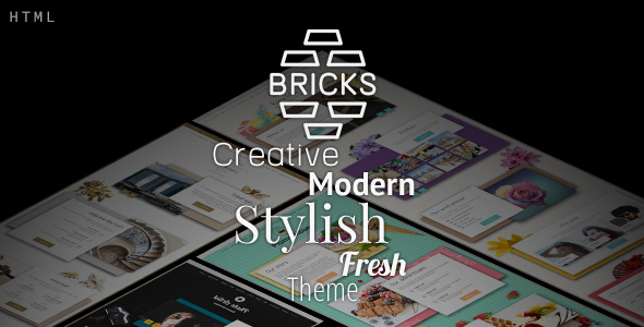 Simple Bricks - multipurpose html template for cafe, corporation, hotel, portfolio sites with shop.            TFx Aston Hildred