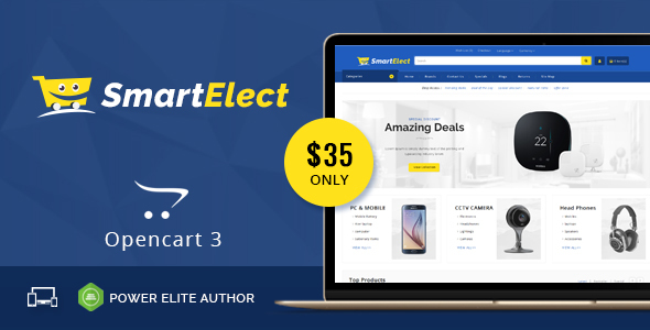 SmartElect - Multipurpose OpenCart 3 Theme            TFx Ralphie Walker