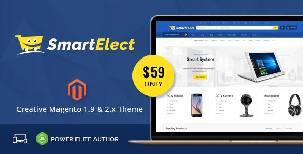 SmartElect - Responsive Magento 1 & 2 Theme            TFx Kerr Jerrod