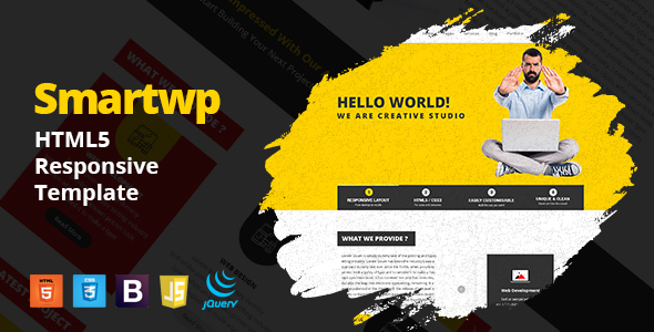 Smartwp - IT Firm digital studio Agency HTML5 Responsive Template            TFx Bishop Finlay