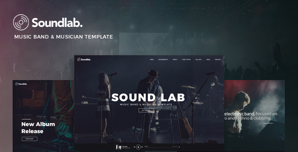 Soundlab - Music Band & Musician Template            TFx Conway Lovel