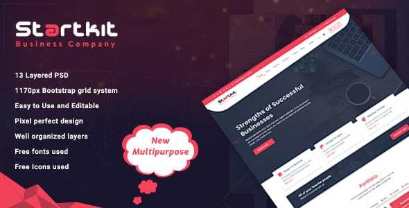StartKit - Business Multipurpose PSD template            TFx Ryder Aaron