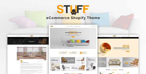 Stuff - Furniture Shopify Theme            TFx Kuwat Irvin