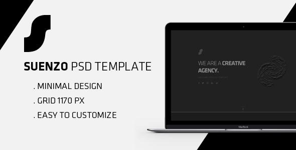 Suenzo - Portfolio PSD Template            TFx Wibawa Joey