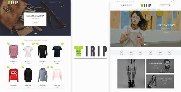Tirip - Multipurpose eCommerce Responsive HTML Template            TFx Cree Chris