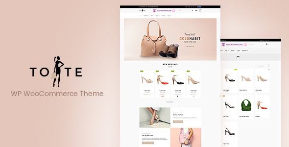 Tote – WordPress WooCommerce Theme            TFx Tylar Abel