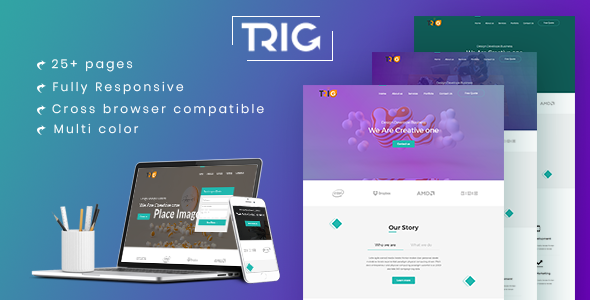 Trig - One Page Agency Landing Page            TFx Bennett Sukarno