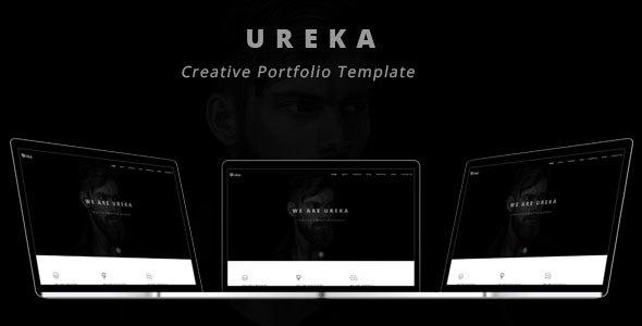 Ureka - Creative Portfolio Template            TFx Aucaman Lewis